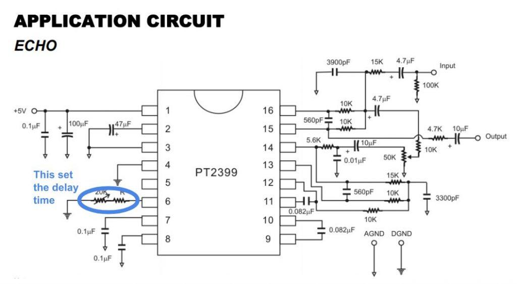 MIDI synchronized echo with PT2399 – Dzl's Evil Genius Lair